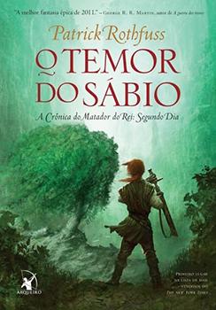 Capa do livro O Temor do Sábio