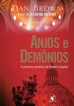Capa do livro Anjos e Demônios