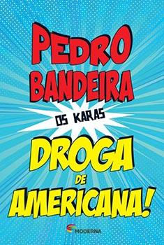 Capa do livro Droga de Americana!