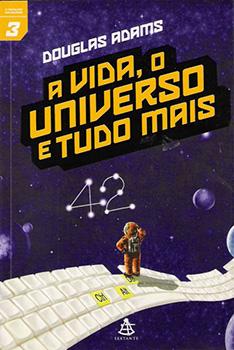 Capa do livro A Vida, o Universo e Tudo Mais