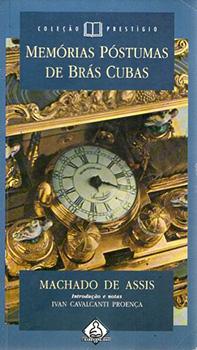 Capa do livro Memórias Póstumas de Brás Cubas