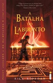 Capa do livro A Batalha do Labirinto