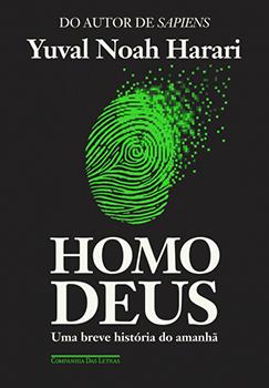 Capa do livro Homo Deus