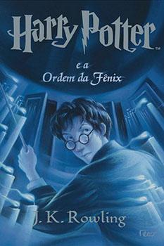 Capa do livro Harry Potter e a Ordem da Fênix