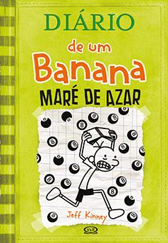 Capa do livro Diário de um Banana 8