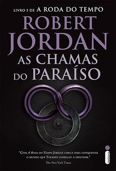 Capa do livro As Chamas do Paraíso