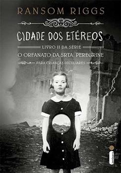 Capa do livro Cidade dos Etéreos