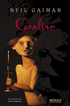 Capa do livro Coraline