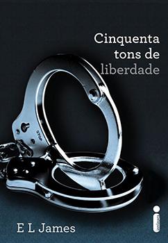Capa do livro Cinquenta Tons de Liberdade