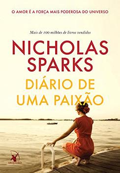 Capa do livro Diário de uma Paixão