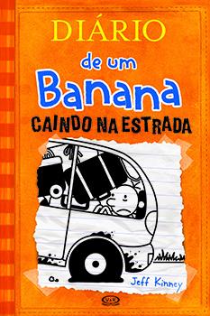 Capa do livro Diário de um Banana 9