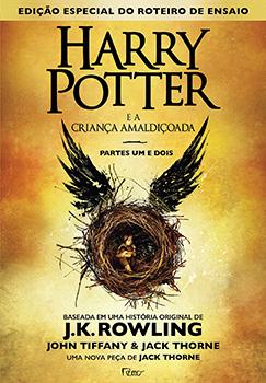 Capa do livro Harry Potter e a Criança Amaldiçoada