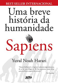 Capa do livro Sapiens