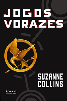Capa do livro Jogos Vorazes