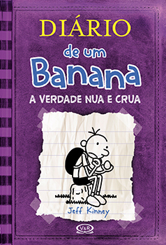 Capa do livro Diário de um Banana 5