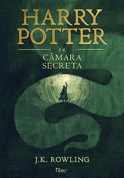 Capa do livro Harry Potter e a Câmara Secreta