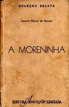 Capa do livro A Moreninha