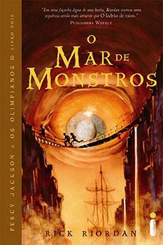 Capa do livro O Mar de Monstros
