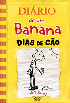 Capa do livro Diário de um Banana 4
