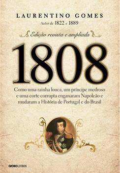 Capa do livro 1808
