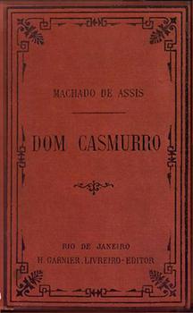 Capa do livro Dom Casmurro
