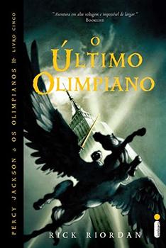 Capa do livro O Último Olimpiano