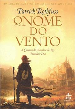 Capa do livro O Nome do Vento