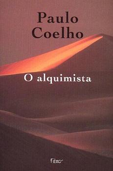 Capa do livro O Alquimista