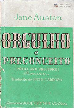 Capa do livro Orgulho e Preconceito