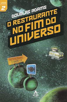 Capa do livro O Restaurante no Fim do Universo