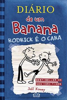 Capa do livro Diário de um Banana 2