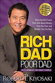 Capa do livro Rich Dad Poor Dad