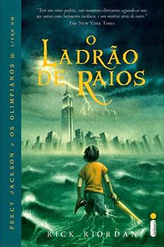 Capa do livro O Ladrão de Raios