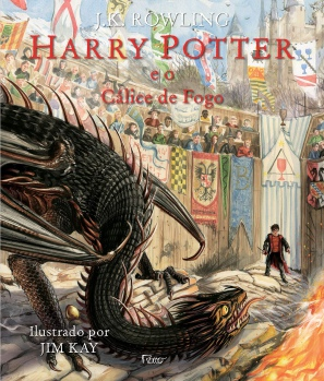 Capa do livro Harry Potter e o Cálice de Fogo