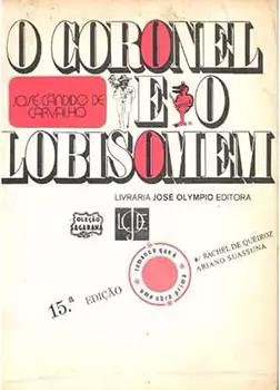 Capa do livro O Coronel e o Lobisomem
