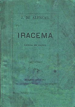 Capa do livro Iracema